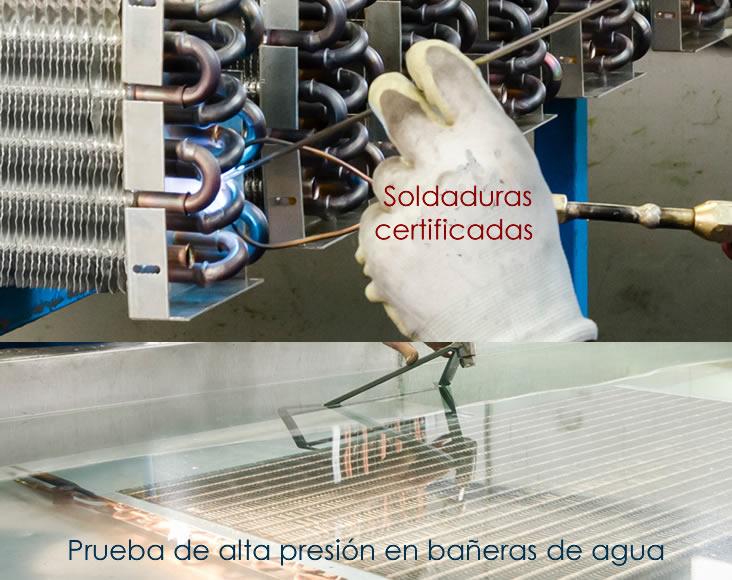 intercambiadores radiadores de baja temperatura aerotermia para viviendas unifamiliares calefacción calderas de condensación
